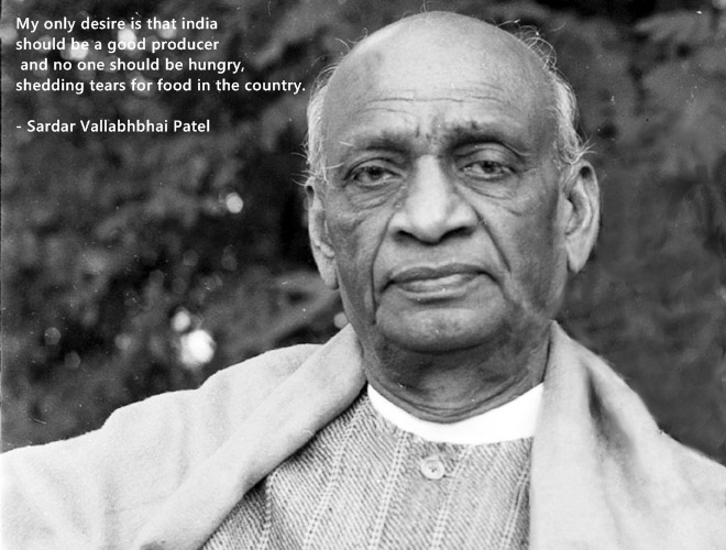 Quote by Sardar Patel