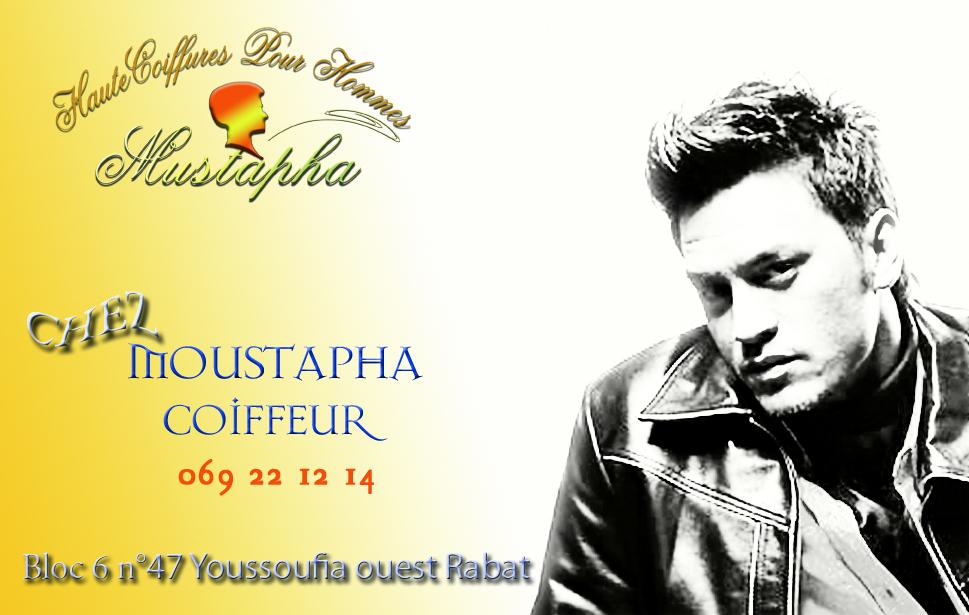 Carte Visite Salon Coiffure Mustapha