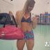 Treino de quadríceps, posterior e panturrilhas da Geisa Vitorino