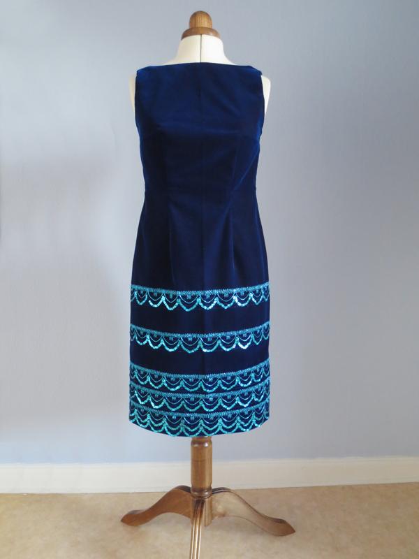 Sammetsklänning StinaP