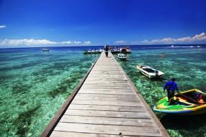 Wisata alam Pantai Derawan Kalimantan Timur