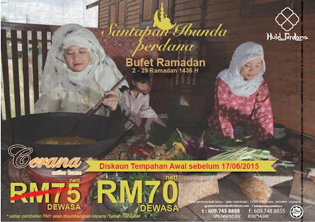 Iftar, buka puasa, ramadan, ramadhan, makan-makan, Kelantan, Kota Bharu, Hotel Perdana, Destination Malaysia, byrawlins, foodies