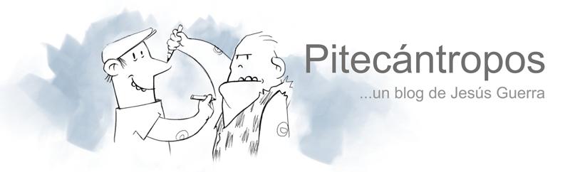 Pitecántropos - Jesús Guerra comic blog
