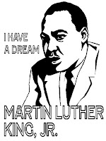 Martin Luther King Jr I Have A Dream Coloring Page