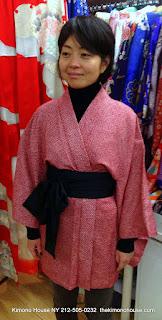 Japanese Kimono Jacket from Kimono House NY 212-505-0232 thekimonohouse.com