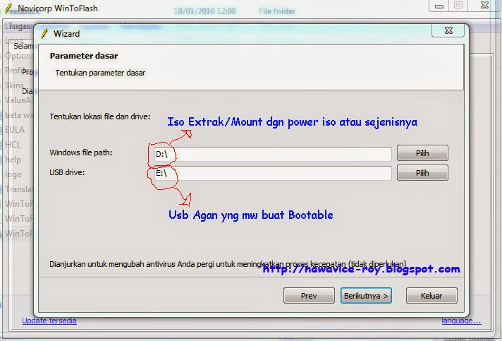 Cara Membuat Bootable Flashdisk Installer Windows XP, 7, 8