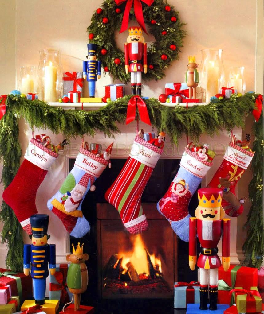 Decoracion de chimeneas para navidad parte 2 - Adornos de chimeneas ...