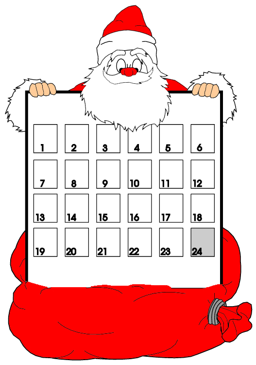 Christmas Countdown w/Music: