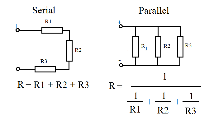 electronic circuits basic calculations and equations