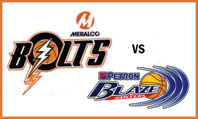 Bolts vs Petron