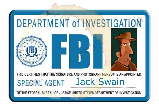 The Art of AnimationGirl: Detective Jack Swain - Undercover FBI Agent