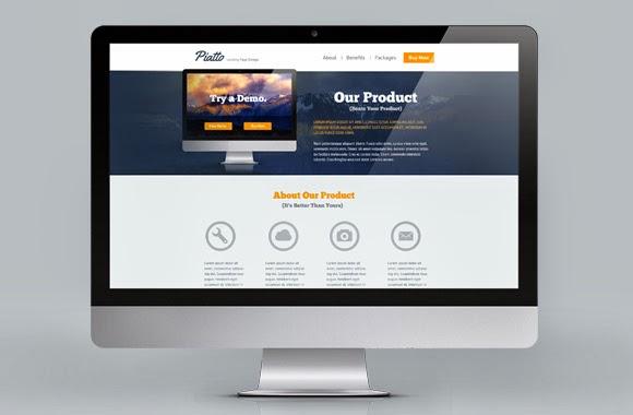 free web template psd,