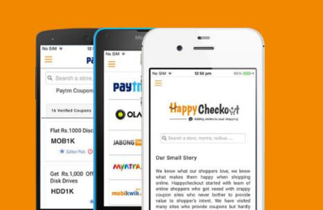 Happycheckout.in Apps