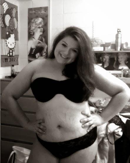 Carta de una chica con sobrepeso