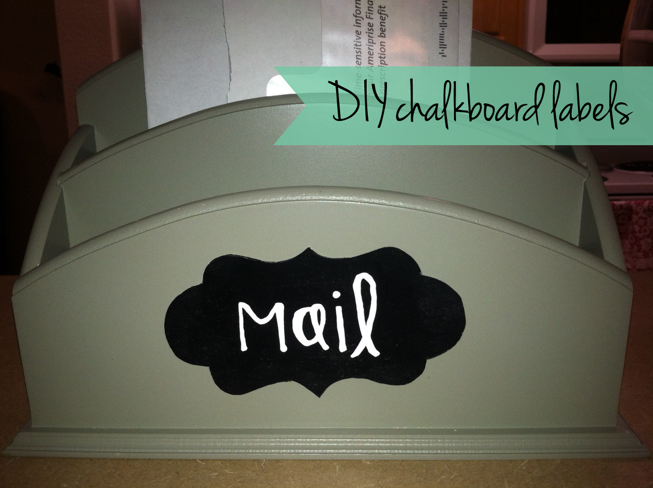 Thrift and craft it diy chalkboard labels for Diy chalk labels