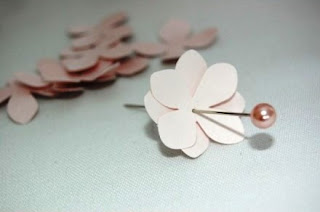 Cara Membuat Kerajinan Tangan dari Kertas , Bunga Kertas :