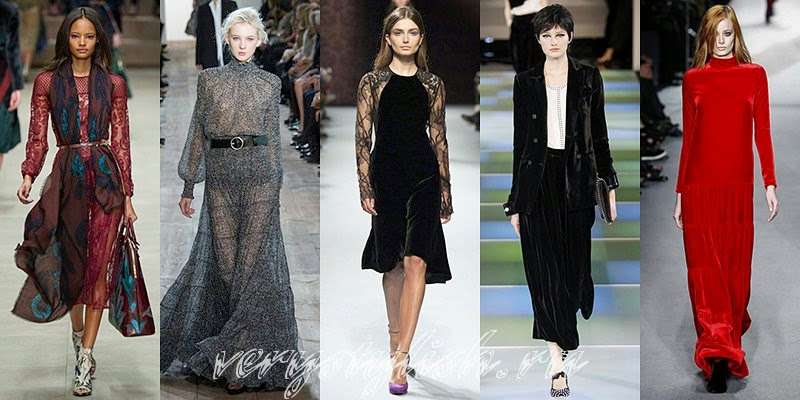 Fall-Winter 2014-2015 Fashion Trends