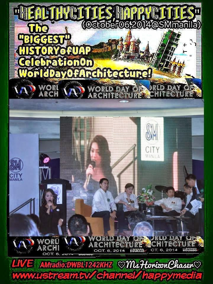 UAP World Day of Architecture 2014-2015