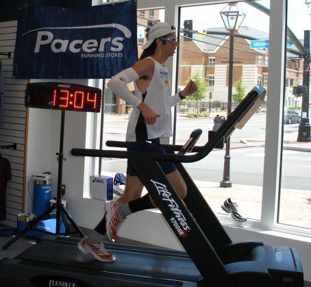 Dod Cathlon F Vrier Marathon Sur Tapis Roulant
