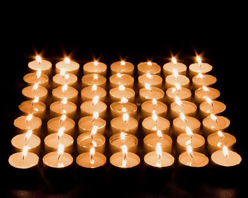 gambar-gambar cahaya lilin romantis @digaleri.com