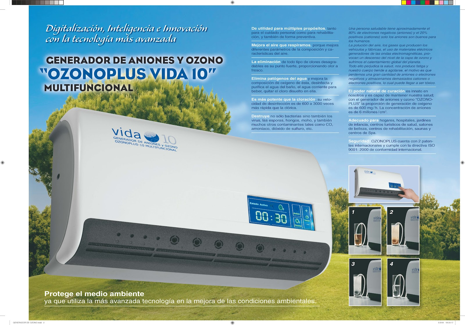 Acuanea water systems generador de ozono - Ozono vida 10 ...