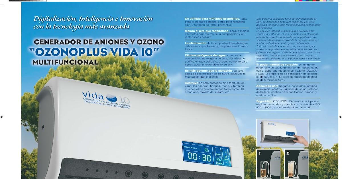 Acuanea water systems generador de ozono - Vida 10 ozono ...
