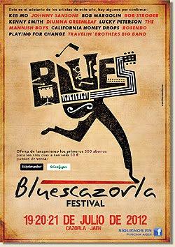Rosendo o Eric Sardinas al Festival BluesCazorla