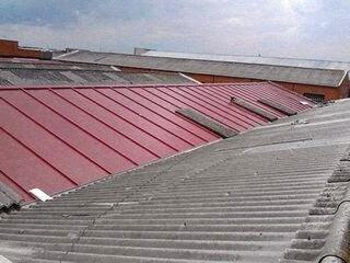 Reparar uralita reparar techo de uralita limpiar placas for Tejados sin tejas