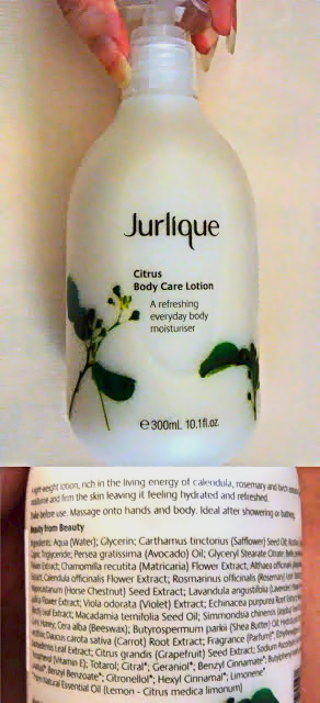 Jurlique Citrus Body Lotion