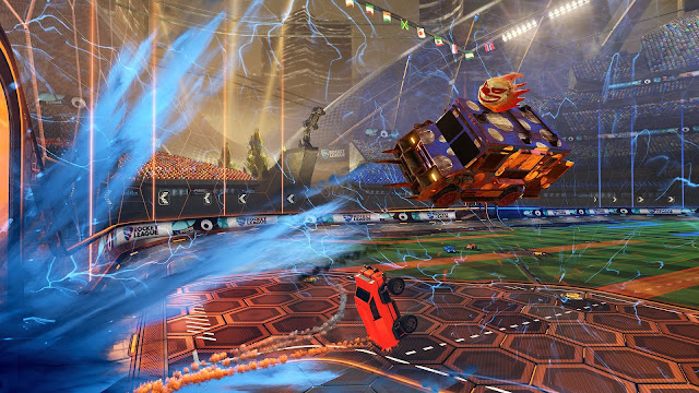 Rocket League Review Screenshot Goal Scored