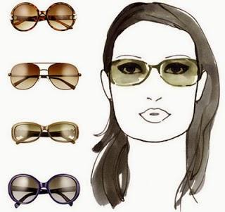 Kacamata untuk wajah persegi [kotak]