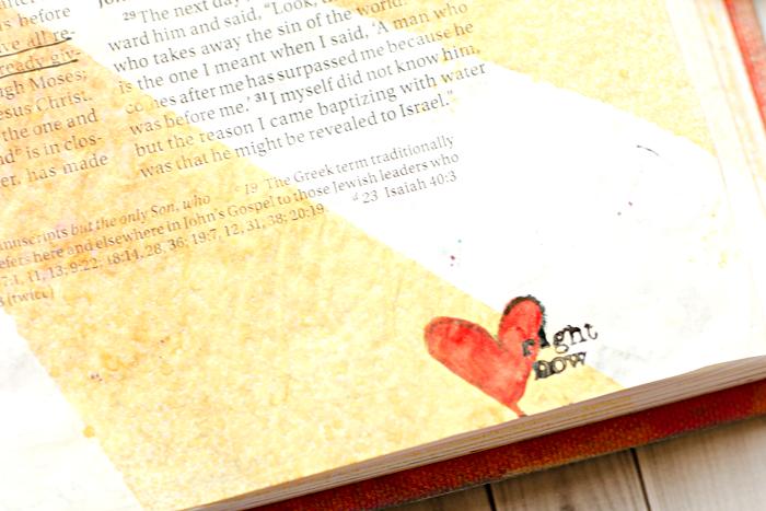 Art Worship Art Journaling Bible | John 1 | She Reads Truth | Illustrated Faith