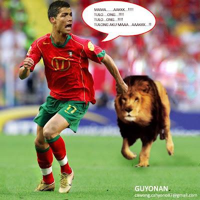 Cristiano Ronaldo Lucu