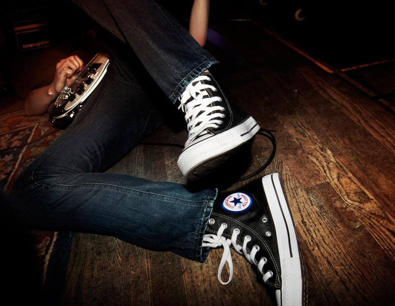 Converse On Feet
