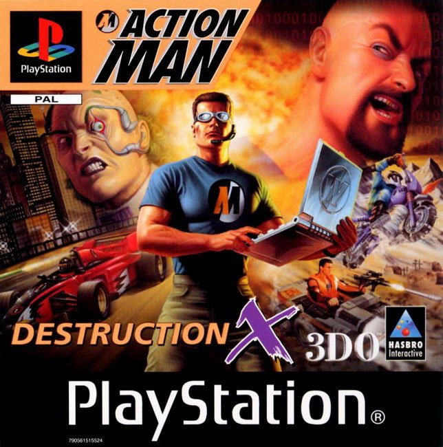 Torrent Super Compactado Action Man Destruction X PS1