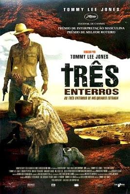 Filme Três Enterros DVDRip RMVB Dublado