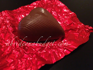 Foil-Wrapped Chocolate Heart