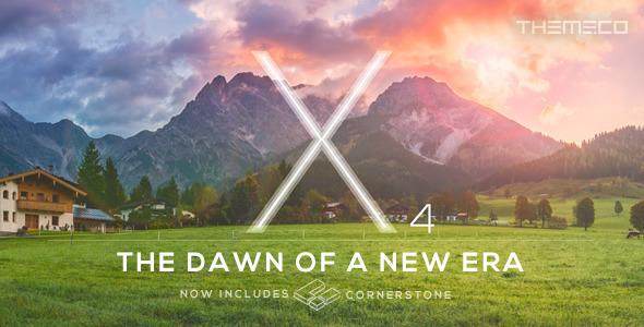Free Download X V4.1.0 Premium Themeforest Wordpress Theme