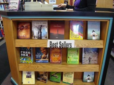 ejemplo best sellers libreria