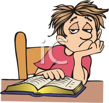 Busy doing homework