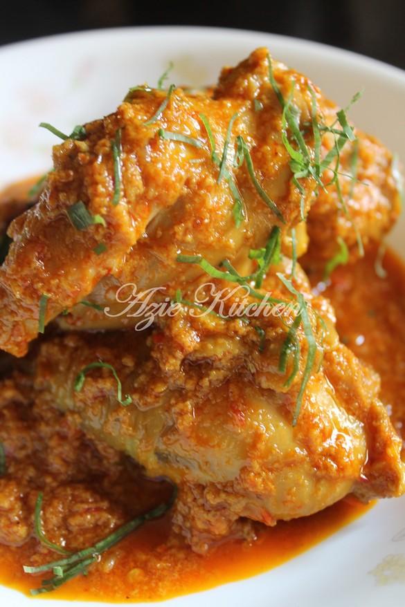 Rendang Pedas Ayam