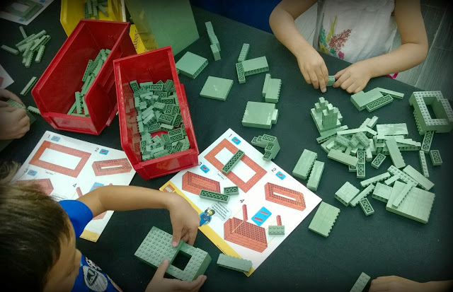 Yoda green bricks
