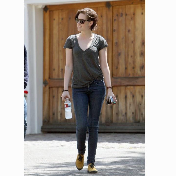 Saskia Street Style Kristen Stewart