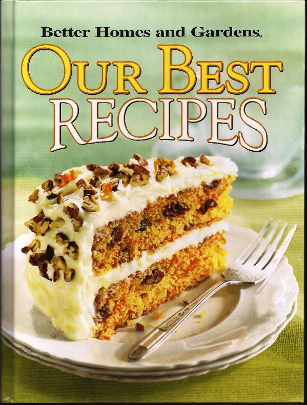 The iowa housewife better homes and gardens our best recipes Bhg g