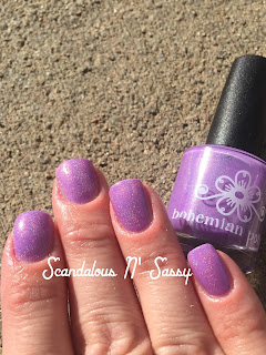 Bohemian Polish See No Dreams holo