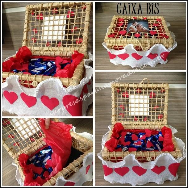 caixa chocolate para namorado