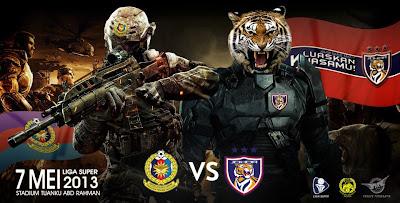 Live Streaming ATM vs Johor Darul Takzim 7 Mei 2013 - Liga Super 2013