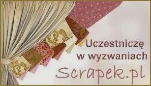 Uczestniczę w wyzwaniach Scrapek.pl