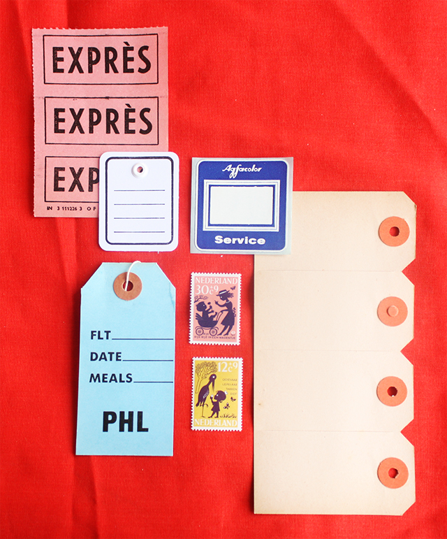 national stationery week - labels and stamps from present and correct