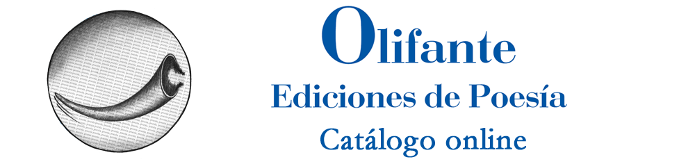 Olifante Ediciones de Poesía · Catálogo